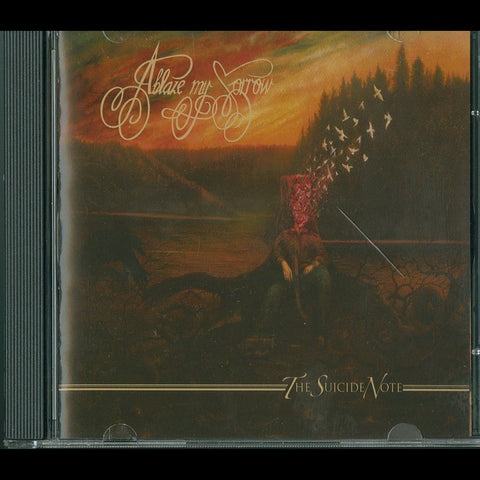"Ablaze My Sorrow ""The Suicide Note"" CD"