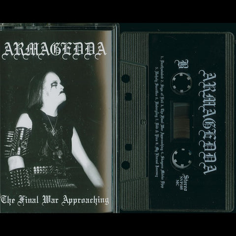 "Armagedda ""The Final War Approaching"" MC"
