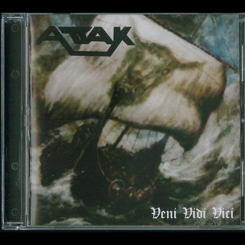 "Attak ""Veni Vidi Vici"" CD (80's US Metal)"