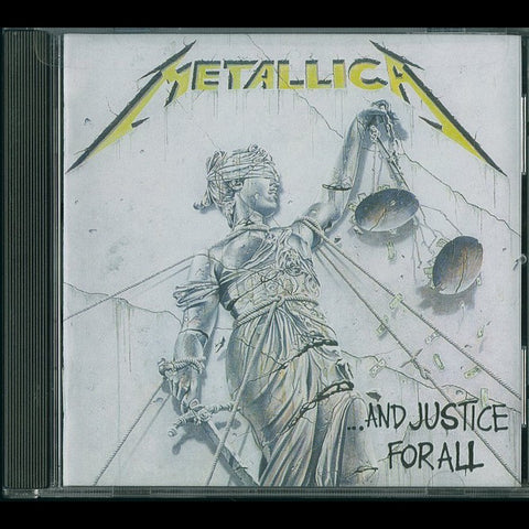 "Metallica ""...And Justice for All"" CD"
