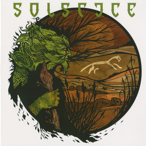 "Solstice ""White Horse Hill"" LP"