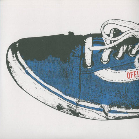 "OFF! ""Compared to What"" Blue Vinyl 7"""