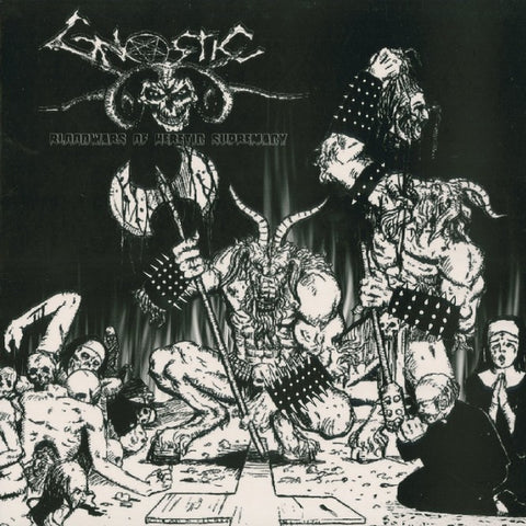 "Gnostic ""Bloodwars of Heretic Supremacy"" LP"