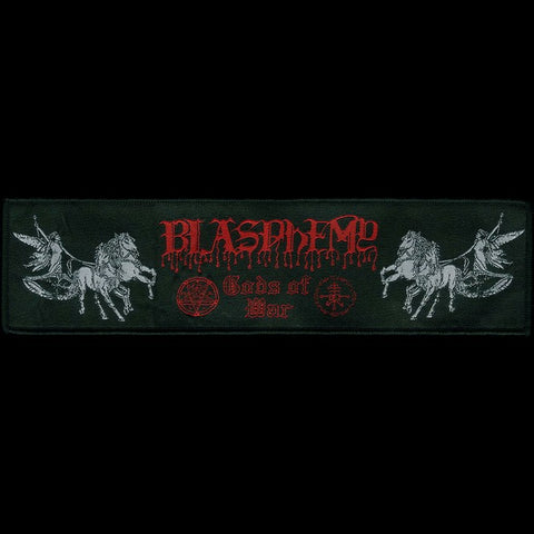 "Blasphemy ""Gods of War"" Strip Patch"
