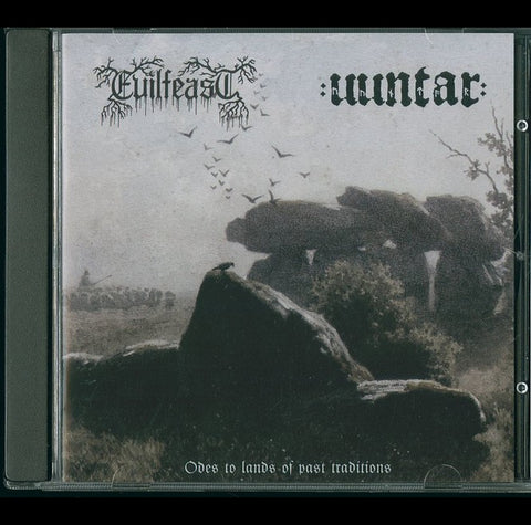"Evilfeast / Uuntar ""Odes to lands of past traditions"" Split CD"