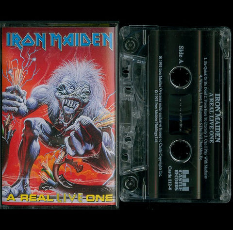 "Iron Maiden ""A Real Live One"" MC"