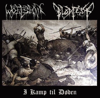 Blodfest / Wolfslair Split CD