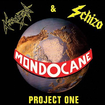 "Necrodeath & Schizo ""Mondocane project One"" Digipak CD"