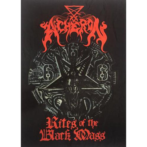 "Acheron ""Rites of the Black Mass"" Flag Poster"