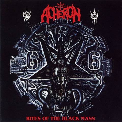 "Acheron ""Rites of the Black Mass"" Digipak CD"