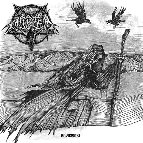 "Mortem ""Ravnsvart"" LP (Like a Arcturus album)"