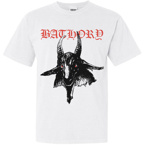 "Bathory ""Bathory"" White TS"