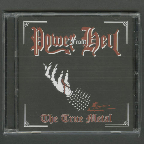 "Power From Hell ""The True Metal"" CD"