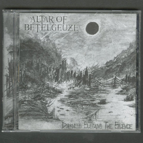 "Altar Of Betelgeuze ""Darkness Sustains The Silence"" CD"