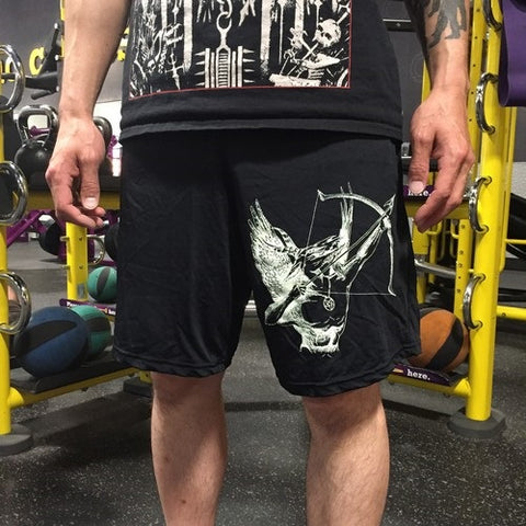 "Blasphemy ""Fallen Angel of Doom...."" Gym Shorts L"