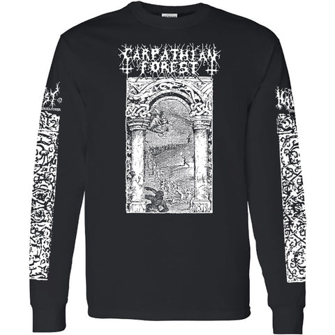 "Carpathian Forest ""Journey Through the Cold Moors of Svarttjern"" Black LS"