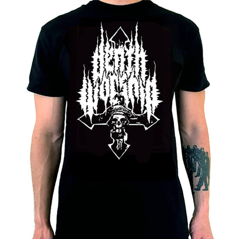 "Death Worship ""Inverted Cross Logo"" TS"