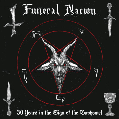 "Funeral Nation ""30 Years in the Sign of the Baphomet"" Double LP"