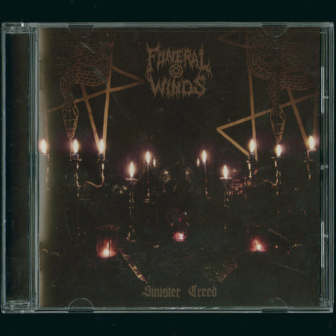 "Funeral Winds ""Sinister Creed"" CD"