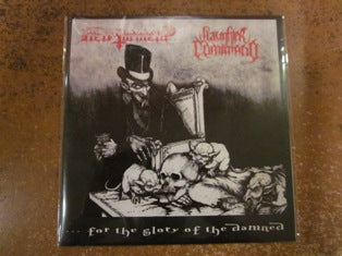 Hell Torment / Slaughter Command Split 7""