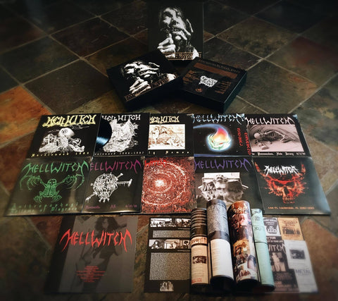 "Hellwitch ""Compilation Of Death"" Black Vinyl 10 x LP Boxset"