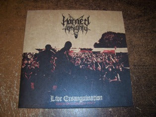 "Horned Almighty ""Live Ersanguination"" 10"""