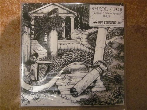 Sheol / For Split Black 7""