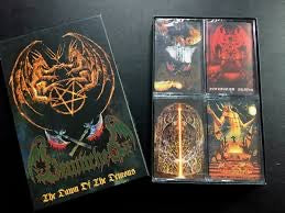 "BEWITCHED ""The Dawn Of The Demons"" 4 x MC Boxset"