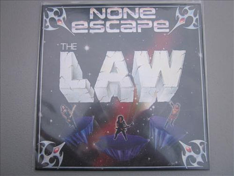 "The Law ""None Escape"" LP (AJNA Press)"