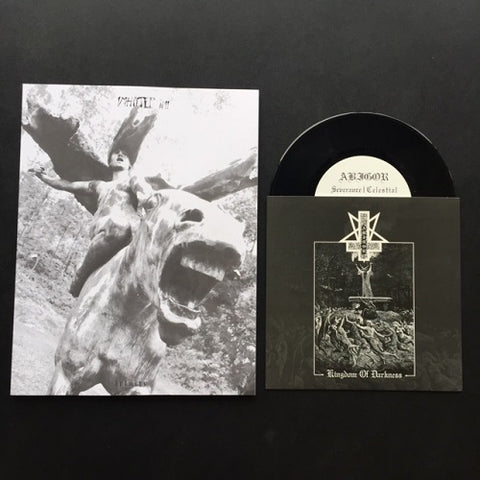 "IMHOTEP Zine # 11 + Abigor ""Kingdom of Darkness"" 7"""