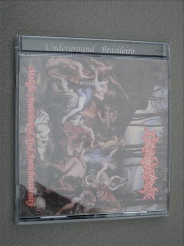 "Difamator ""Malefic Anticlerical and Antichristianity"" CD"