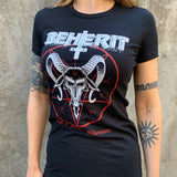 "Beherit ""Dawn of Satan's Millennium"" Women's TS"
