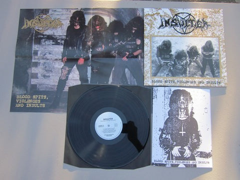 "Insulter ""Blood Spits, Violences, and Insults"" Regular LP"