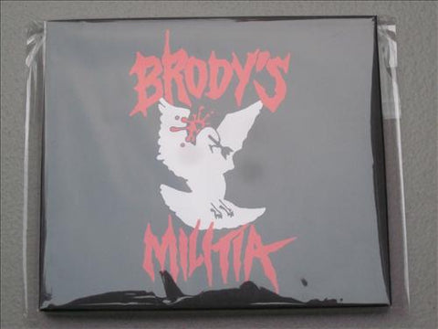 "Brody's Militia ""Covered in Violence"" CD"