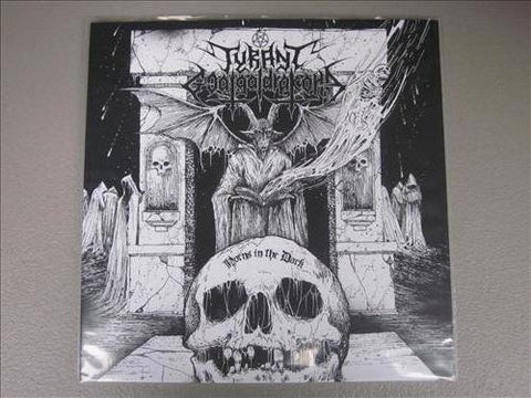 "Tyrant Goatgaldrakona ""Horns in the Dark"" LP"