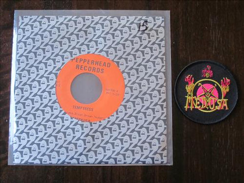 "Medusa ""Strangulation/Temptress"" 7"" + Patch"