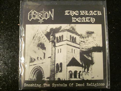 The Black Death / Osirion Split 7""