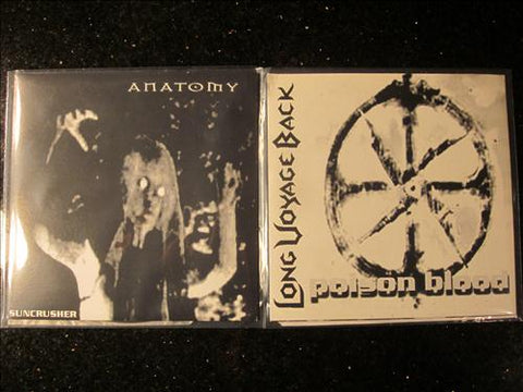 "Anatomy / Long Voyage Back Split 7"" (Destroyer 666 related)"