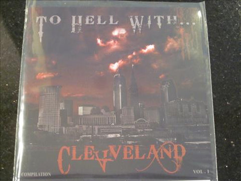 "V/A To Hell With Cleveland 7"" (Nun Slaughter, Decrepit, etc)"