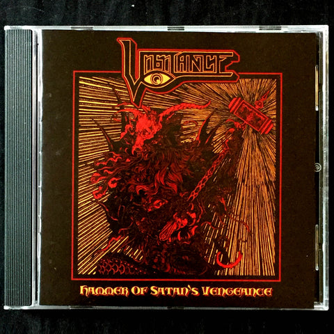 "Vigilance ""Hammer of Satan's Vengeance"" CD"
