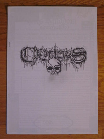 Chronicles Zine #1 (Ares Kingdom, Pentagram, etc)