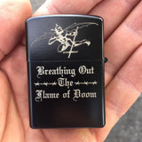 "Blasphemy ""Flame of Doom"" Lighter"
