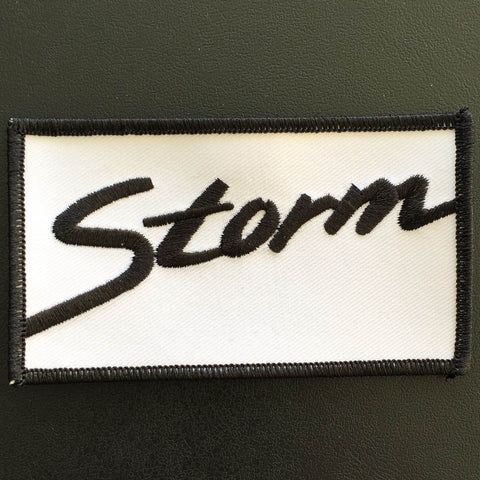 "Storm ""Logo"" Patch"