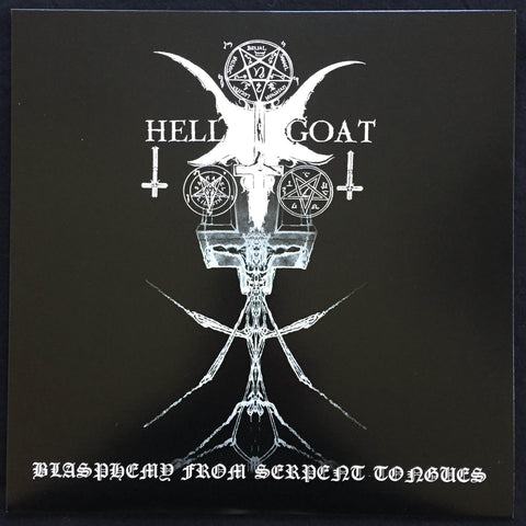 "Hellgoat ""Blasphemy From Serpent Tongues"" LP"