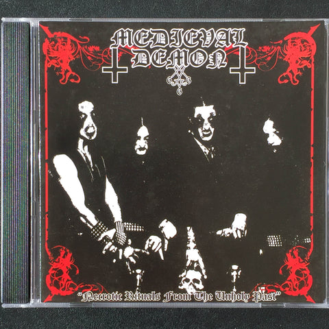 "Medieval Demon ""Necrotic Rituals from the Unholy Past"" CD"