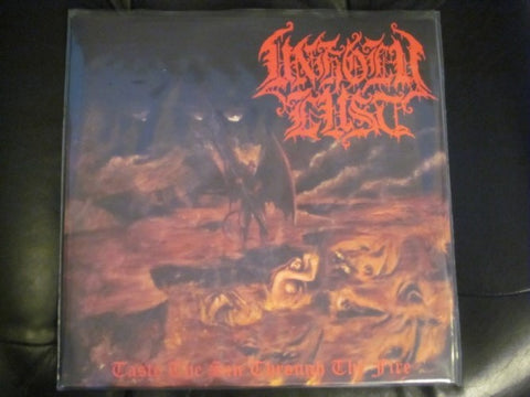"Unholy Lust ""Taste the Sin Through the Fire"" LP"