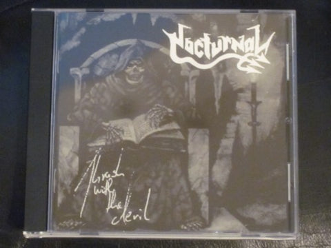 "Nocturnal ""Thrash With The Devil"" CD"