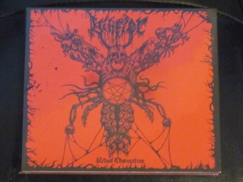 "Vilifier ""Ritual Obscuration"" CD"