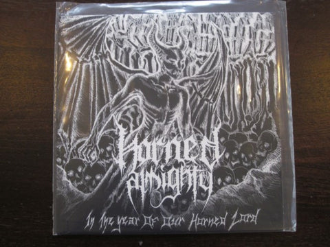 "Horned Almighty ""In The Year of Our Horned Lord"" 7"""