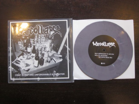 "War Collapse ""Crap, Scrap and Unforgivable Slaughter"" Purple 7"""